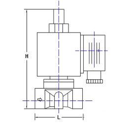直动式燃气电磁阀结构图