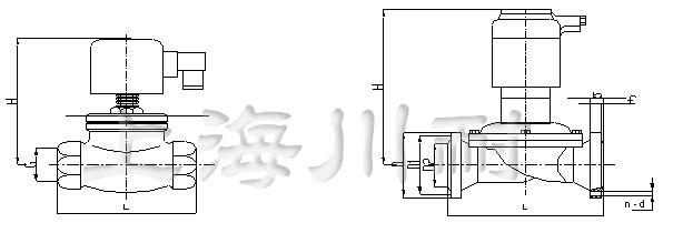 不锈钢先导式水用电磁阀结构图