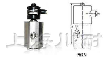 高压防爆电磁阀结构图