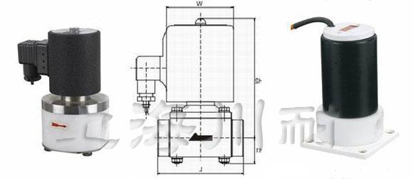 聚四氟乙烯电磁阀结构图